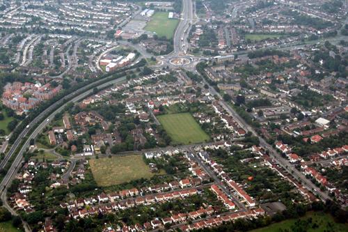 Headington roundabout