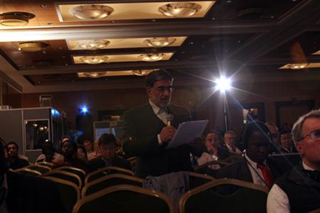 Iranian delegate