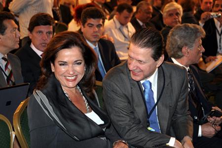 Greek foreign minister Bakoyannis