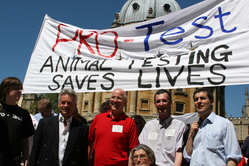 Pro-Test march Radcliffe Sq