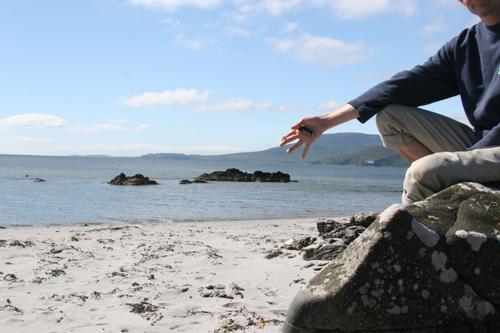 Ardfin beach