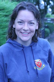 Rachel smiling