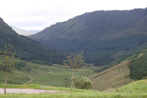 A83 valley
